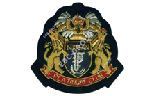 Car Club Hand Embroidered Badge