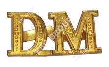 Metal Alphabet Badge