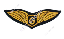 Hand Embroidered Wings