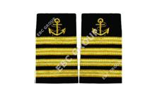 Captain and crew epaulets