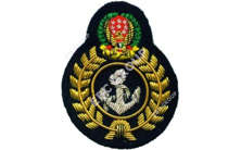 U.A.E Navy Bullion Blazer Badge