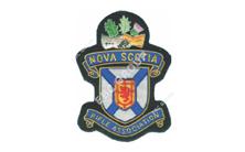 Nova Scotia Rifle Shooting Club Hand Embroidered Badge